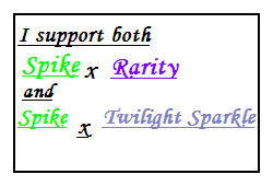 Sparity Spilight support stamp