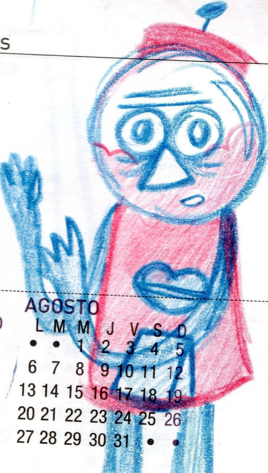 Benson doddle sketch by YuiHarunaShinozaki