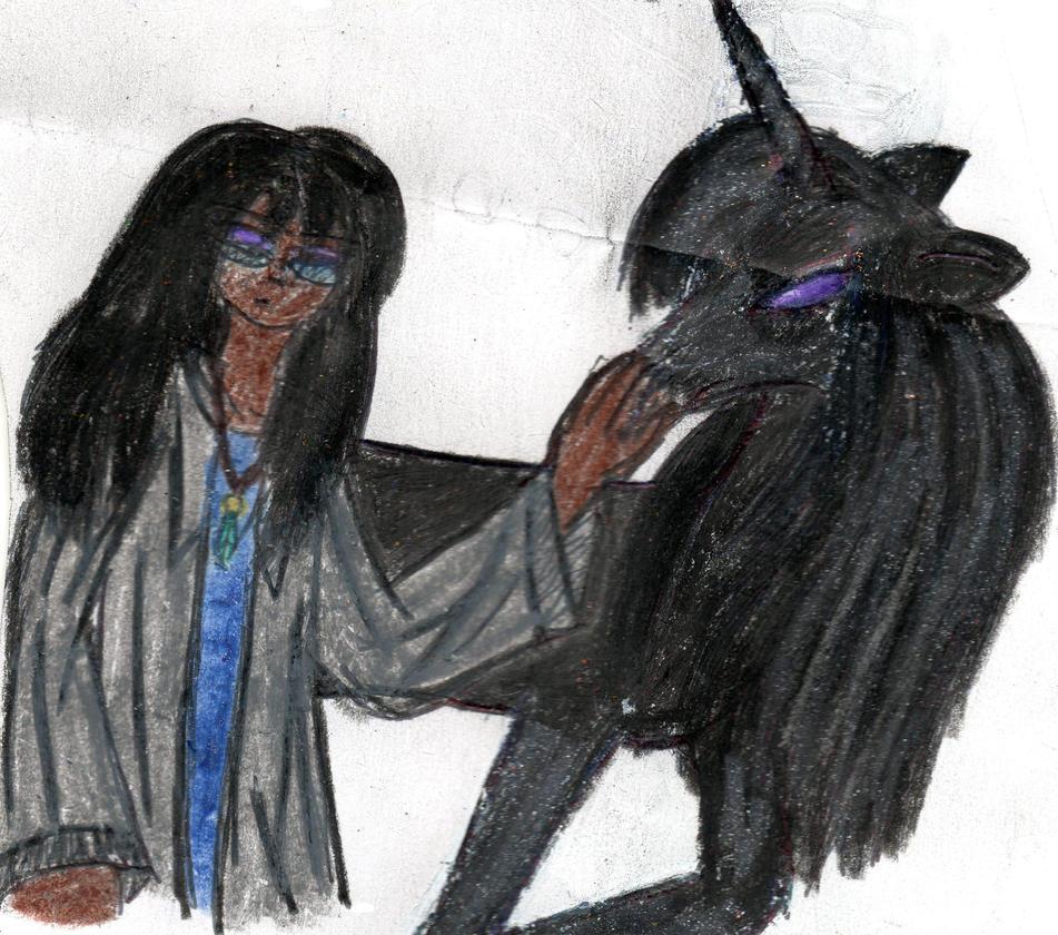 Edmund and his Black Unicorn by YuiHarunaShinozaki