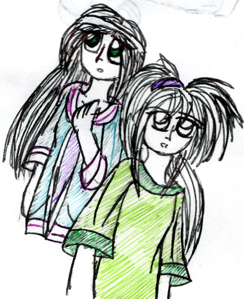 Mila and Kaoru doddle by YuiHarunaShinozaki