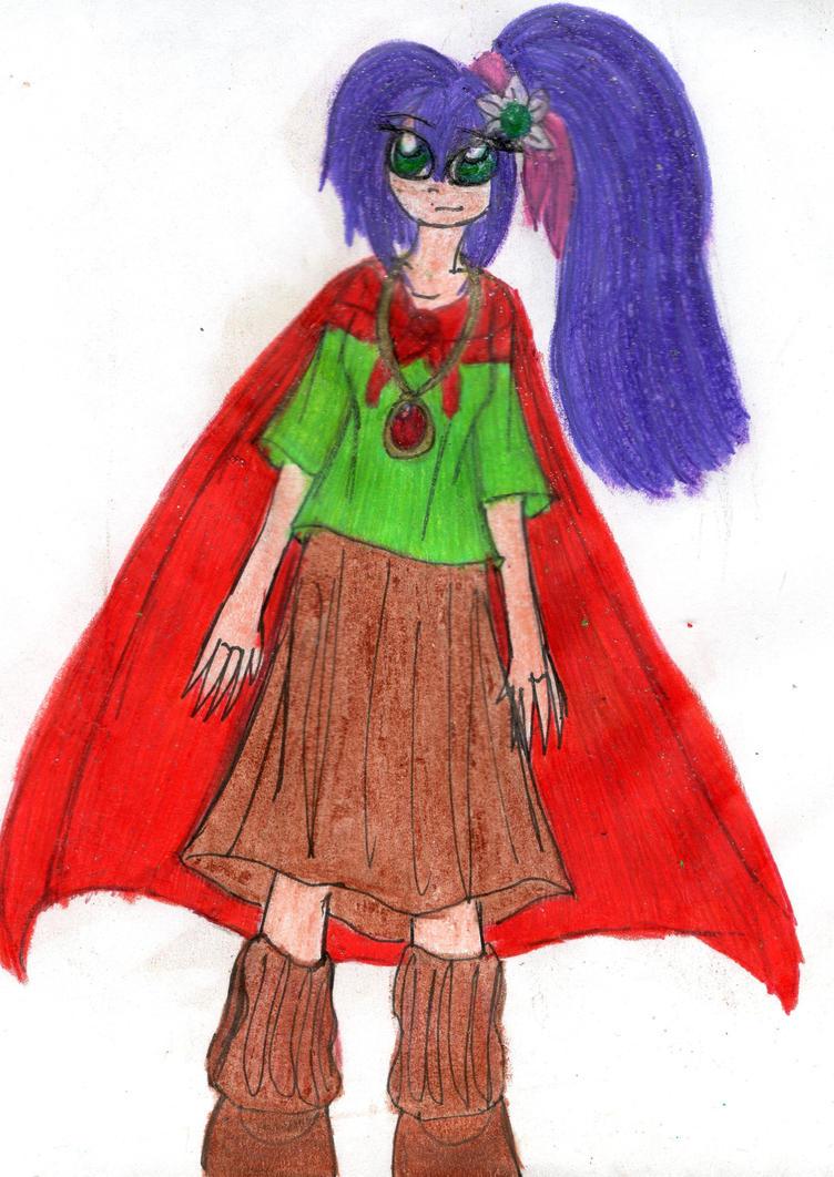 Giselle as Mrs. Brisby doodle by YuiHarunaShinozaki