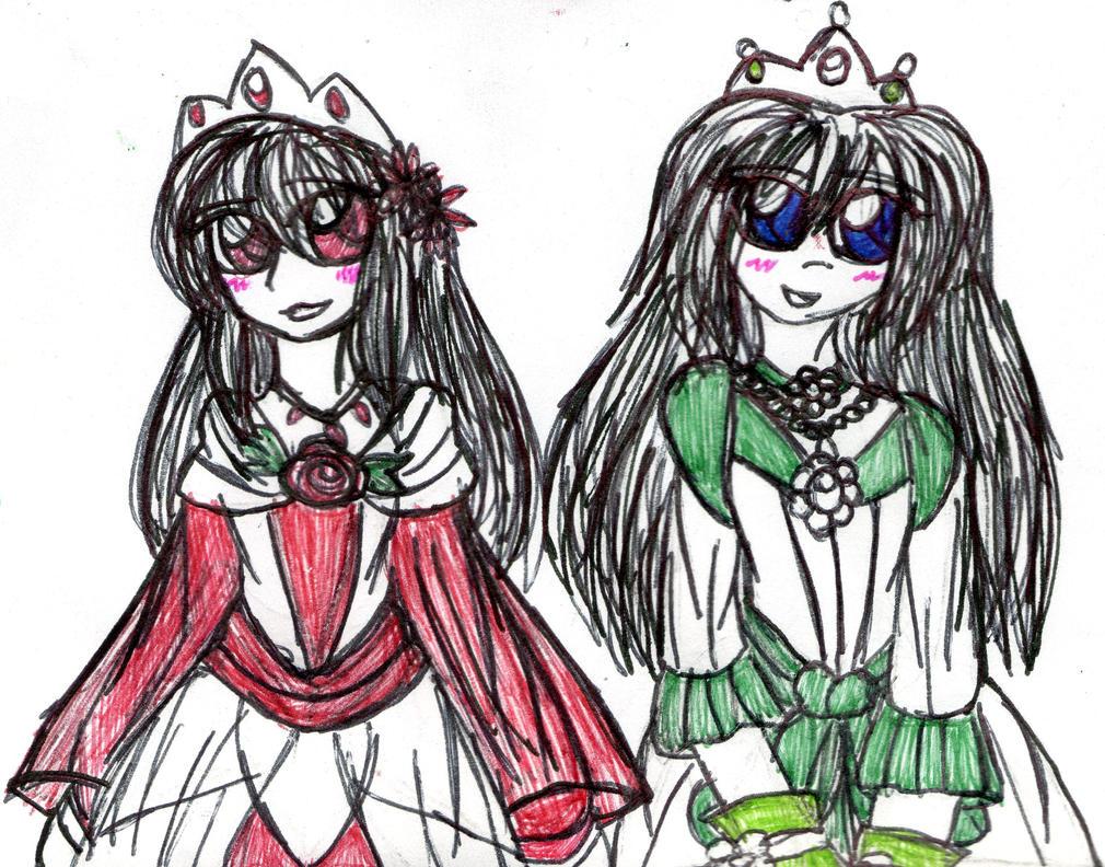 Princesses Mary and Ib again by YuiHarunaShinozaki