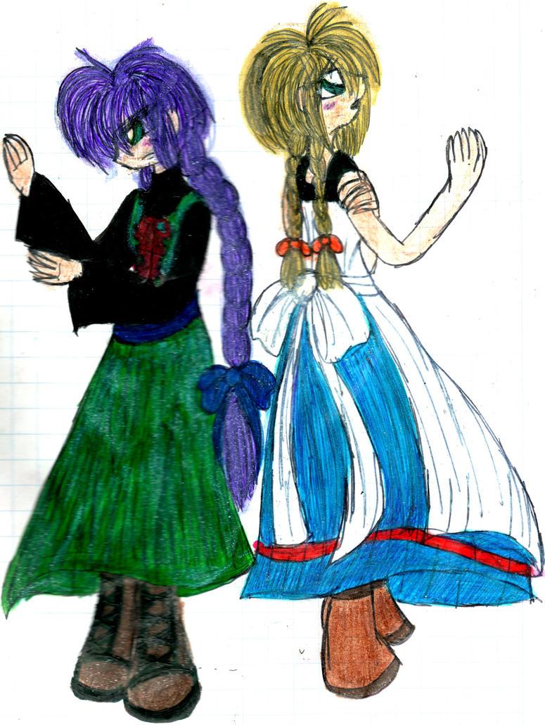 Viola-me and myself by YuiHarunaShinozaki
