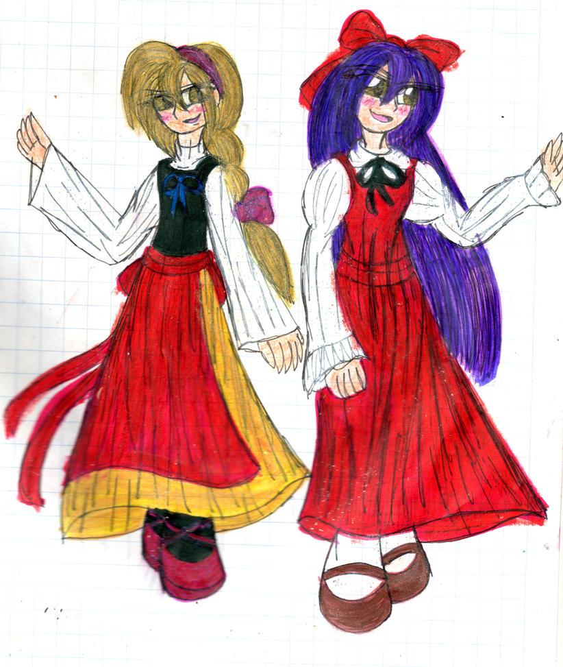 Ellen-me and myself by YuiHarunaShinozaki