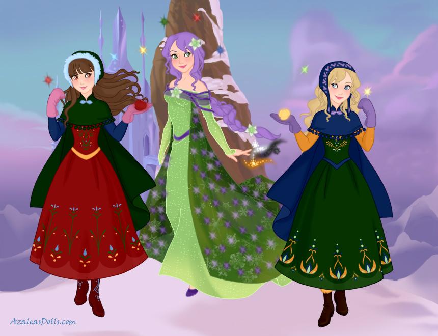 YHS' Snow and Magic-Viola, Ib and Mary by YuiHarunaShinozaki