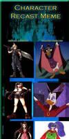 Final Fantasy VII- YHS' style recast meme pt. 1