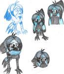Concept-Angry Birds OC-Tori 5 by YuiHarunaShinozaki