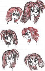 Few Corporal Grumpy headshots by YuiHarunaShinozaki