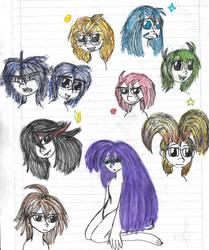 nine people and that's it by YuiHarunaShinozaki