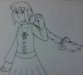 Reborn Viola sketch by Dawn214 by YuiHarunaShinozaki
