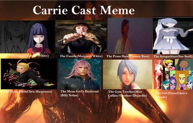 YHS' Carrie recast meme by YuiHarunaShinozaki