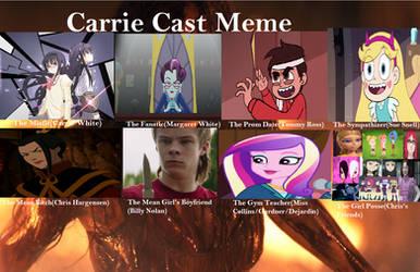 YHS' Carrie recast 2 meme by YuiHarunaShinozaki