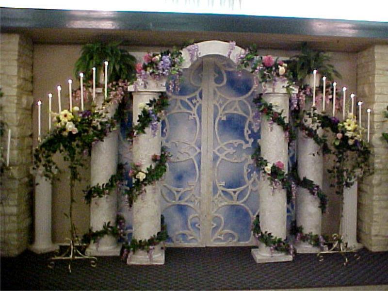 Wedding columns and backdrop stock by estilton on deviantart for Premade columns