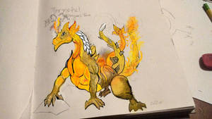 Fire dragon concept