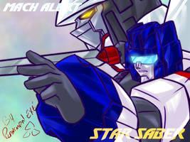 TF - Star Saber n Mach Alert by plantman-exe