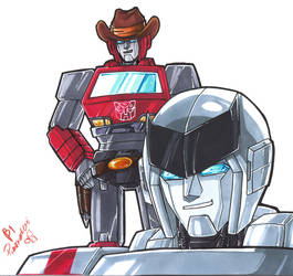 TF - IxR Ride the Cowboy by plantman-exe