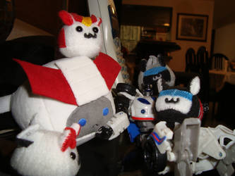 TF - Uncle Jazz's Plush Horde by plantman-exe