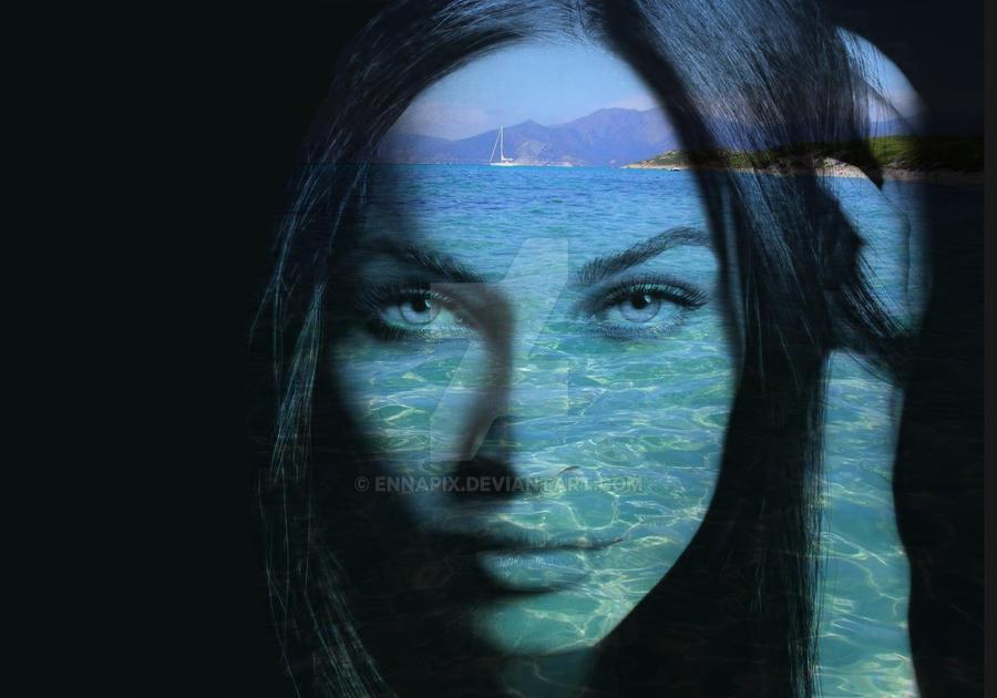 Clear water gaze