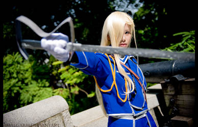 Olivier Mira Armstrong by amaegari