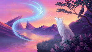 The White Wolf (Witcher Fanart)