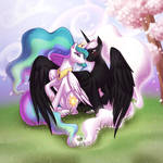 Zodiac and Celestia in the Spring Time