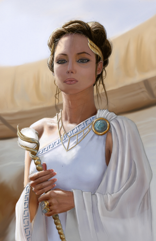 Queen Mellisande of Arabar by orogion
