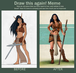 Meme: Before and After - Neely's Outfit