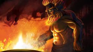 Fire Giant Blacksmith