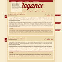 Elegance Blog Skin