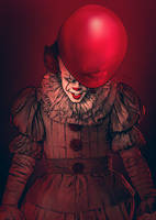 Bill Skarsgard as Pennywise by MateusCosme