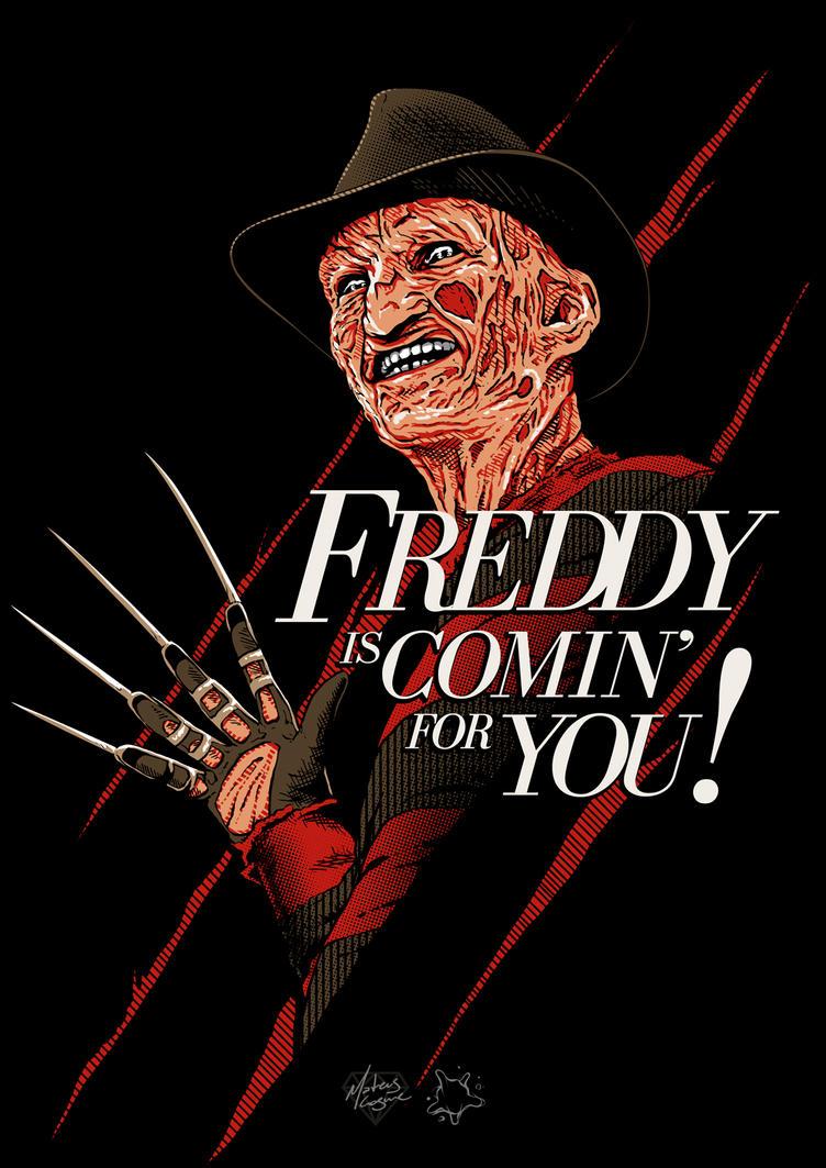 Freddy Krueger by MateusCosme