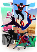 Into the Spider-verse by MateusCosme