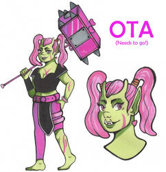 OTA - Monster Girl OC (OPEN) by Pompeop