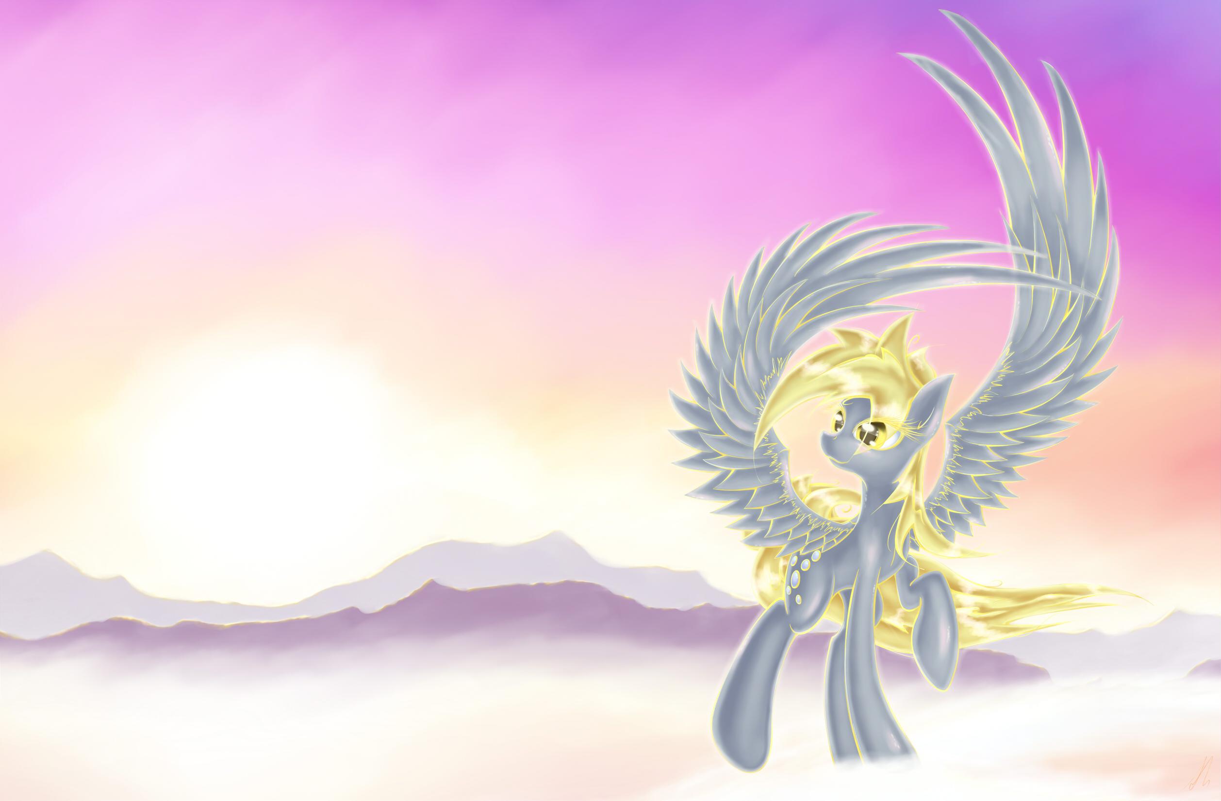 Derpy Sunrise by lightf4lls