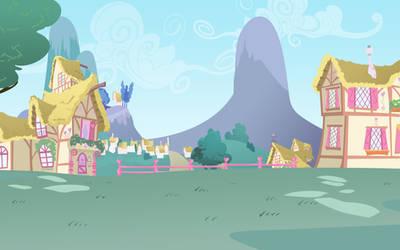 Ponyville Background by lightf4lls