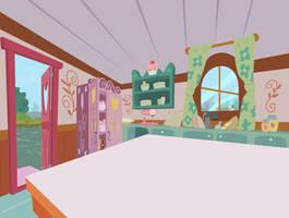 Sugarcube Corner Kitchen by lightf4lls