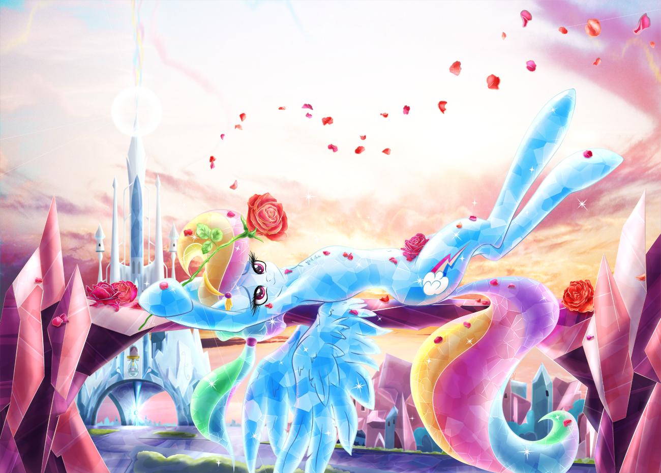 Crystal Roses by lightf4lls