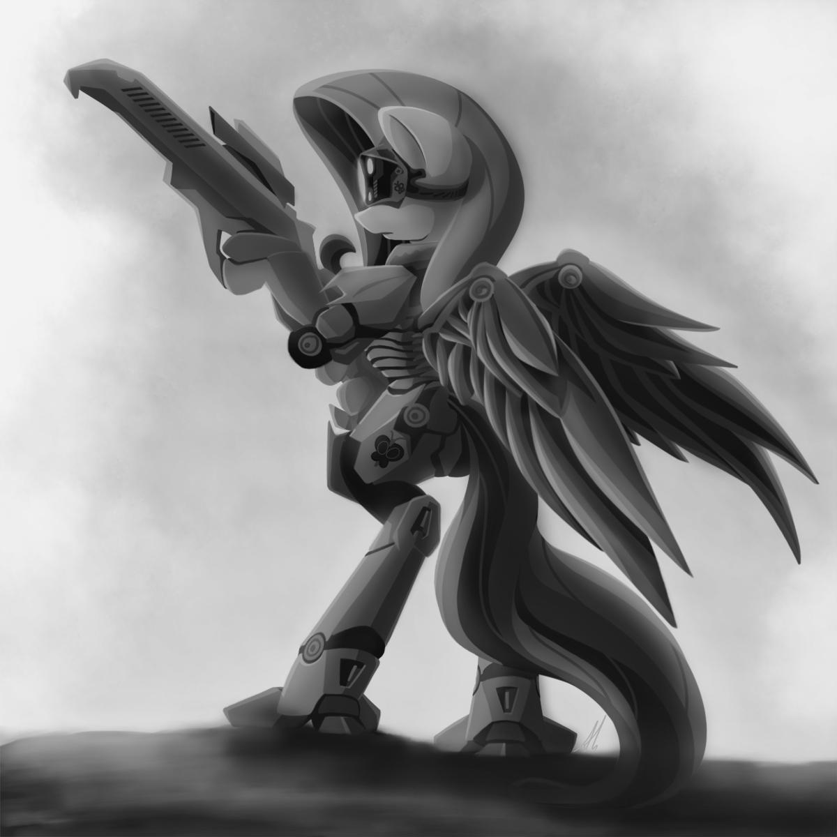 Fluttershy Power-Armor by lightf4lls