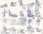 Sketch015 -Pony Sketches