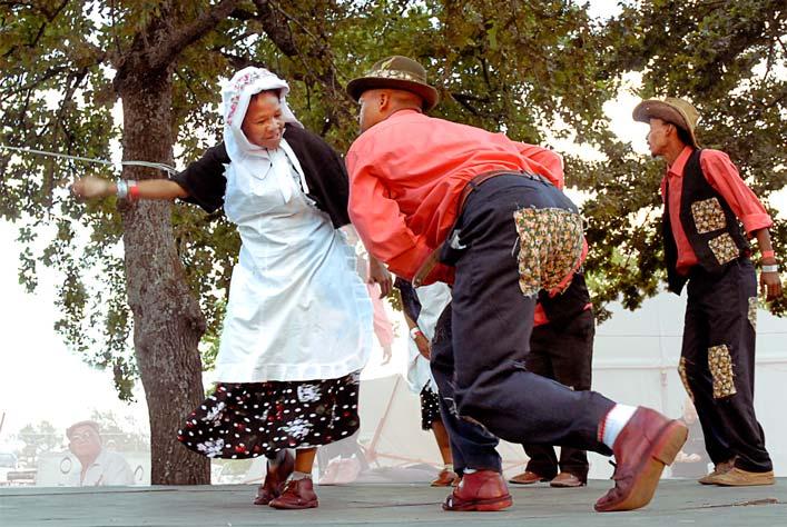 Creole dance  'Rieldans' by hotnotvissie
