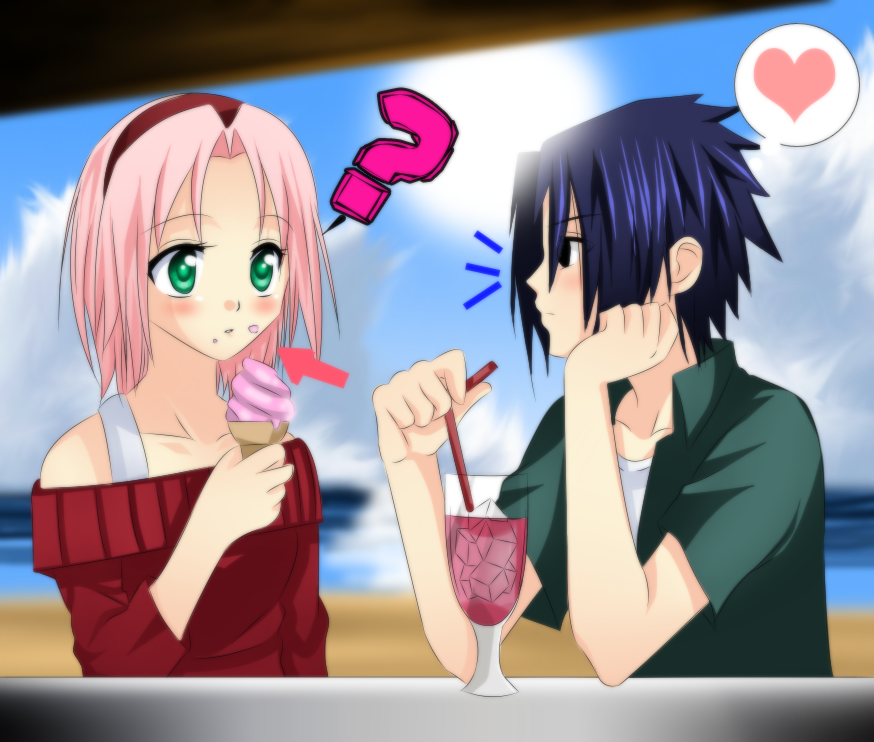 naruto and sakura kissing shippuden
