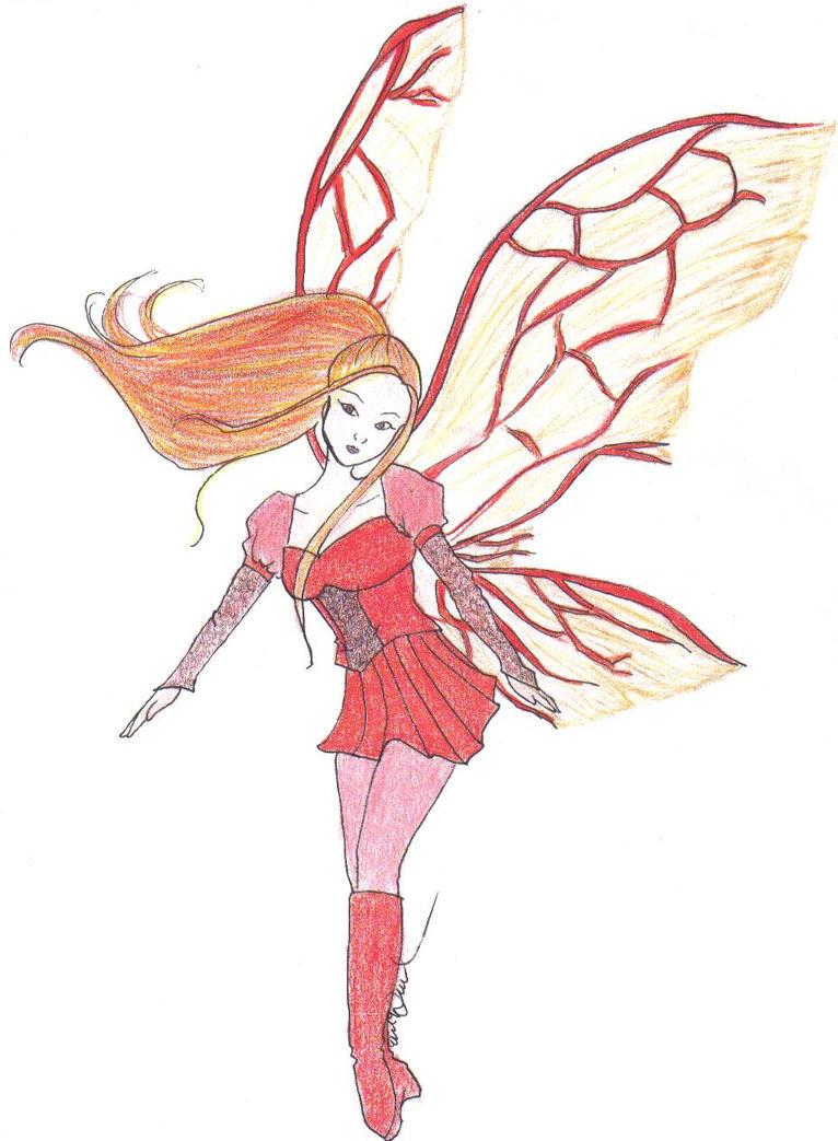 fire fairy by radicaleryn on deviantart