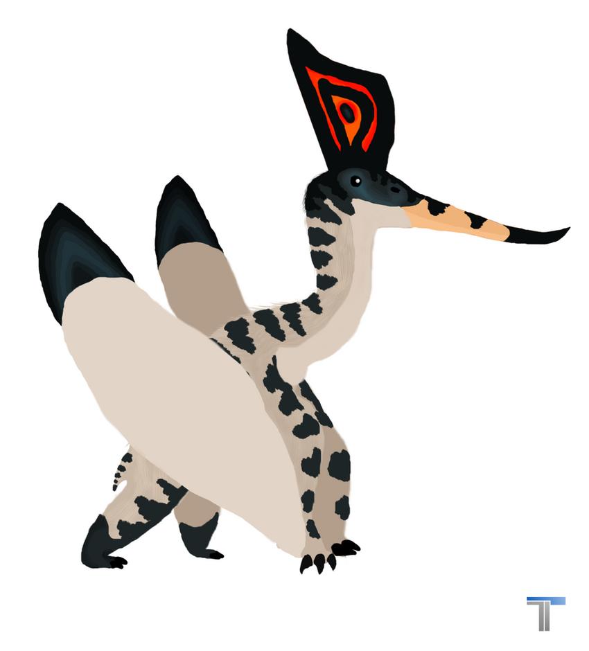 pteranodon by SRleotrex444