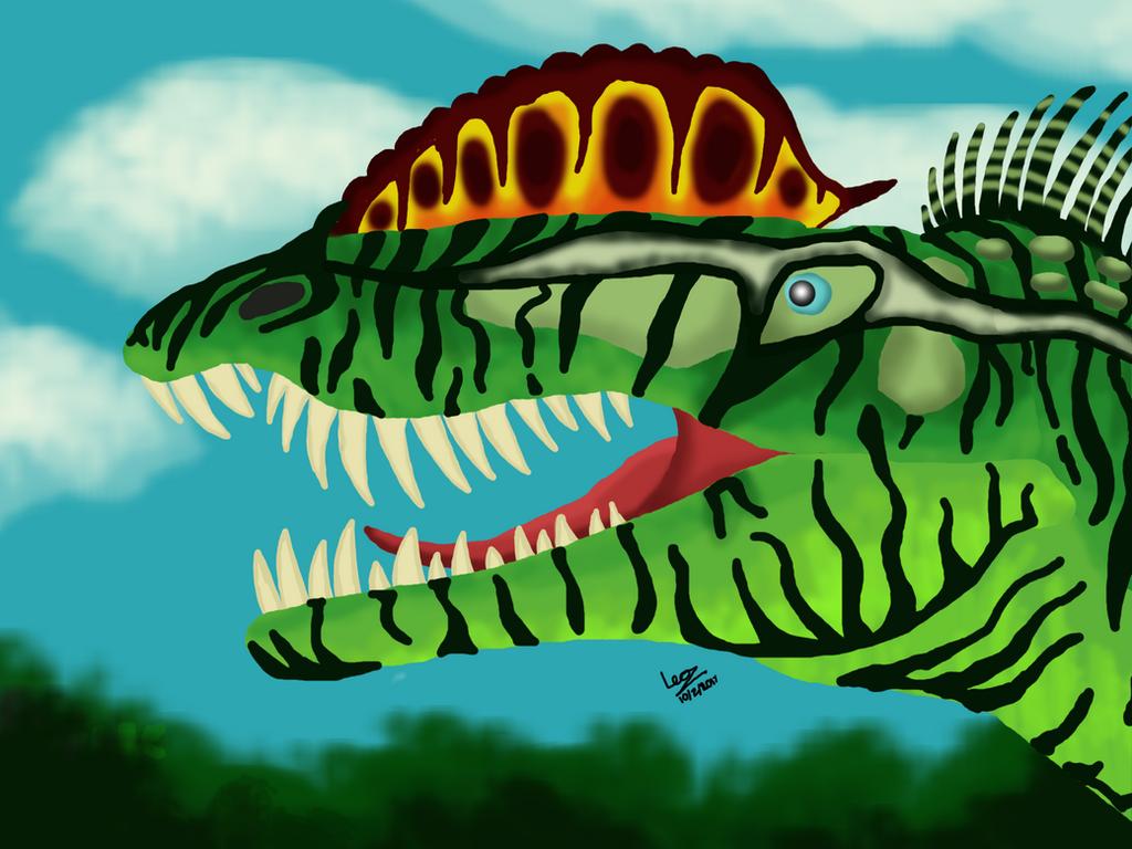 Dilophosaurus by SRleotrex444
