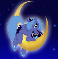 MLP Princess Luna by drago-flame