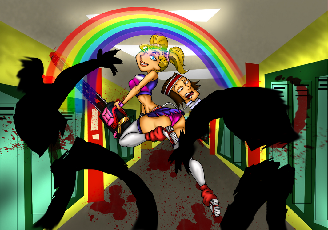 Totally Lollipop Chainsaw by drago-flame