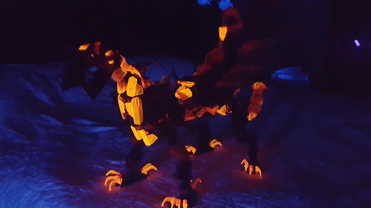 Niran Keegan Dragon of Infernos by drago-flame
