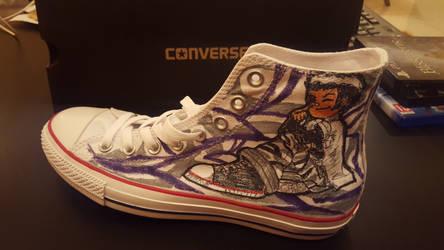 Drago-Flame Converse