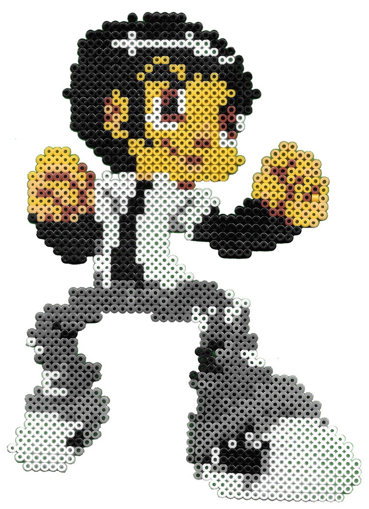 Pixel Beads Drago ID by drago-flame