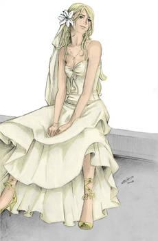Fleur:Wedding dress by nami86